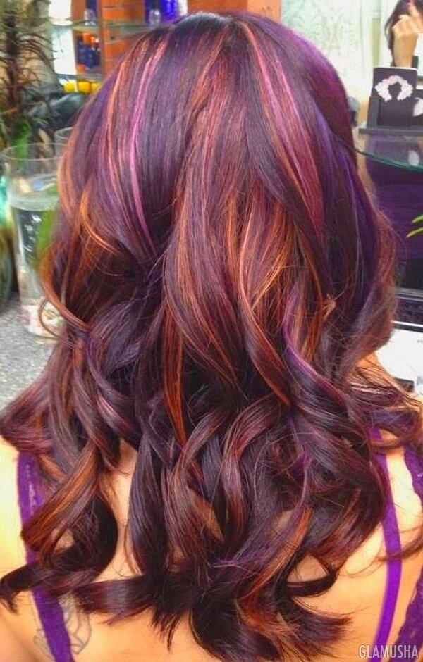 Окрашивание балаяж на рыжих волосах (35 фото) - Для Роста ...