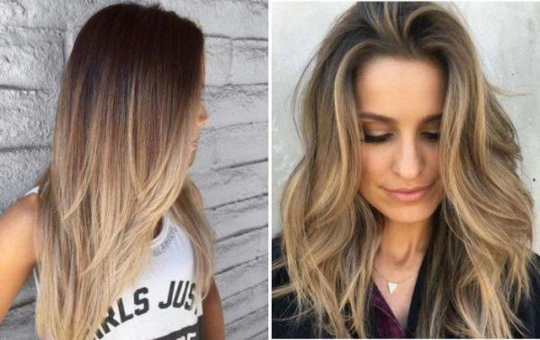 Окрашивание волос в два цвета (37 фото) 💇 Для Роста Волос