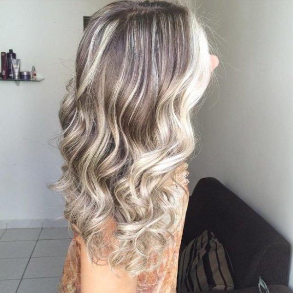 Красивое колорирование на русые волосы (33 фото) - Для ...
