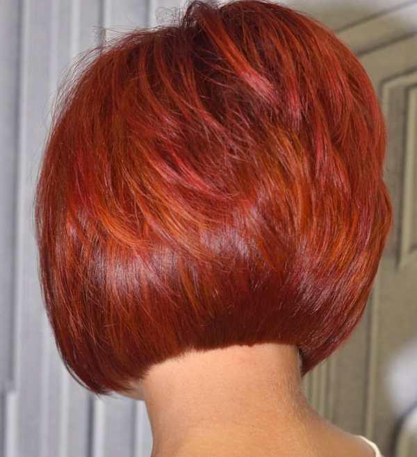 Градуированный боб-каре на короткие волосы (30 фото) - Для ...