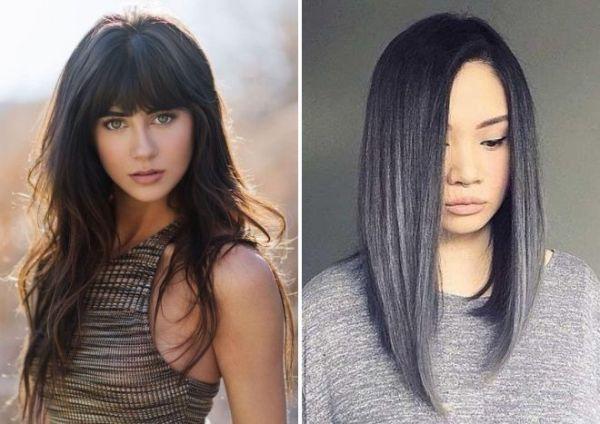 Градуированное каре на длинные волосы (28 фото) - Для ...