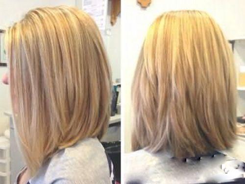 Градуированное каре на длинные волосы (28 фото) 💇 Для ...
