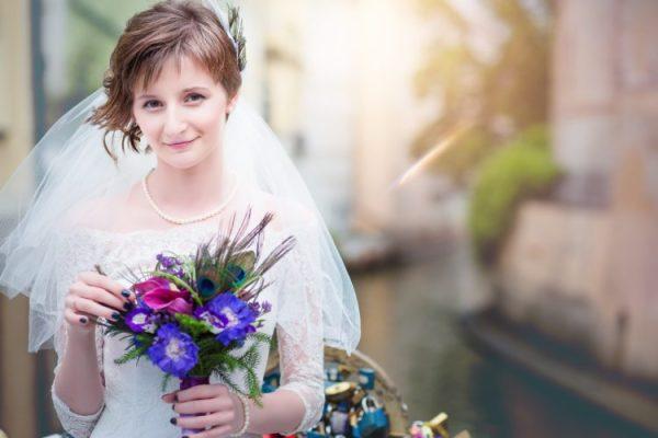 Оригинальные короткие прически на свадьбу: что в моде (30 ...