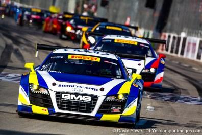 #14 GMG Audi R8 (Long Beach, California, USA)