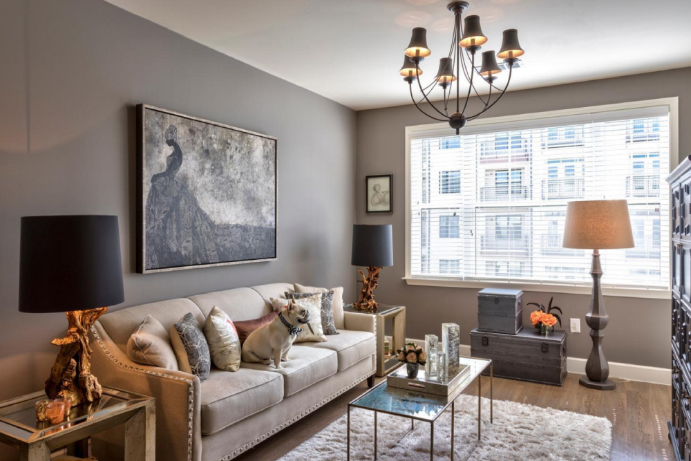 Small Apartment Decorating: 9 Inspiring Ideas - Real ... on Apartment Decorating Styles  id=80185