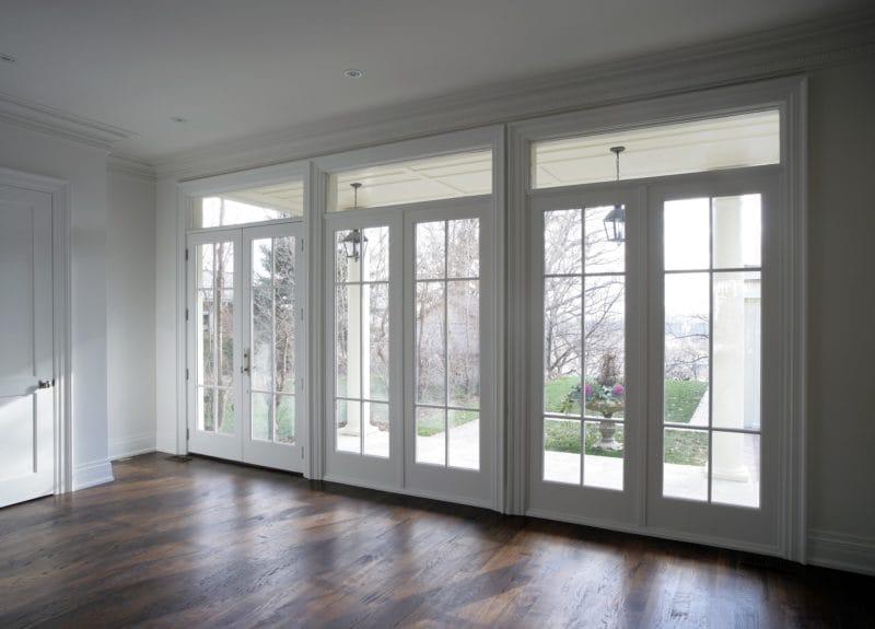 replacing sliding glass doors with