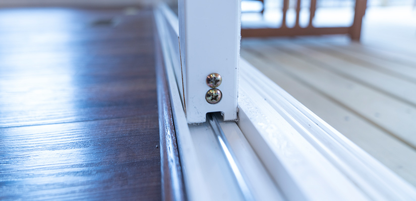 to replace sliding glass door rollers