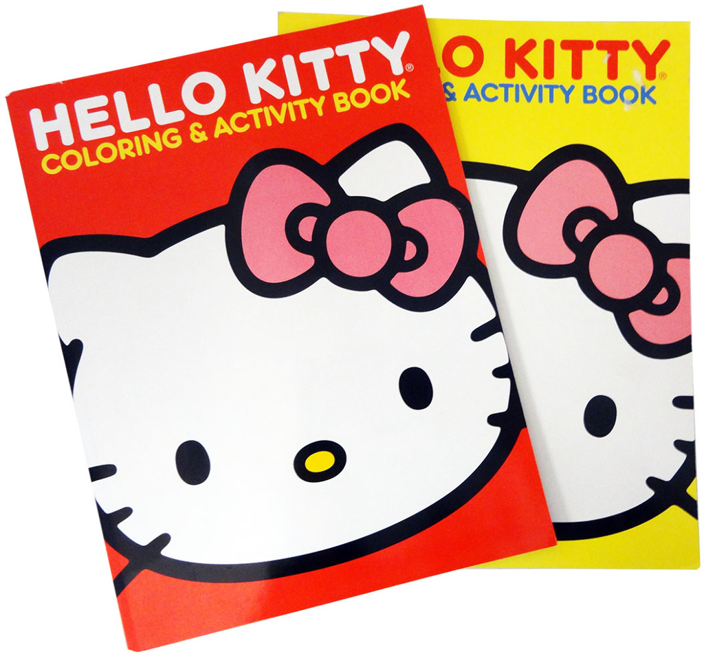 Wholesale Hello Kitty Coloring And Activity Book Assorted