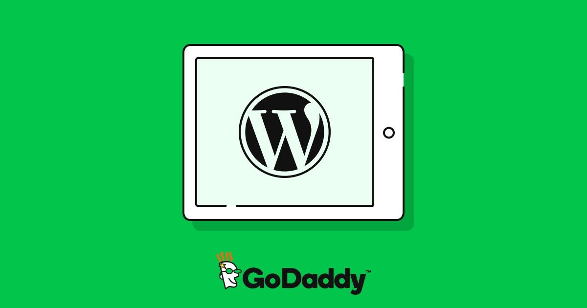 Hospedagem WordPress na Godaddy