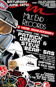 Mile End Records 3rd anniversary and Sunset @ Terrasse Bonsecours (Canada), 6/14
