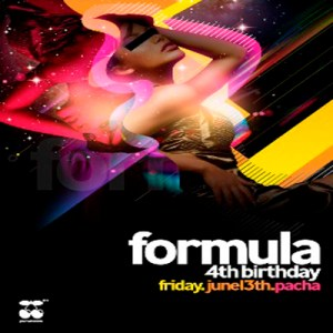 Formula Pacha London