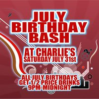 Sa 7 31 JULY BIRTHDAY BASH Vancouver WA