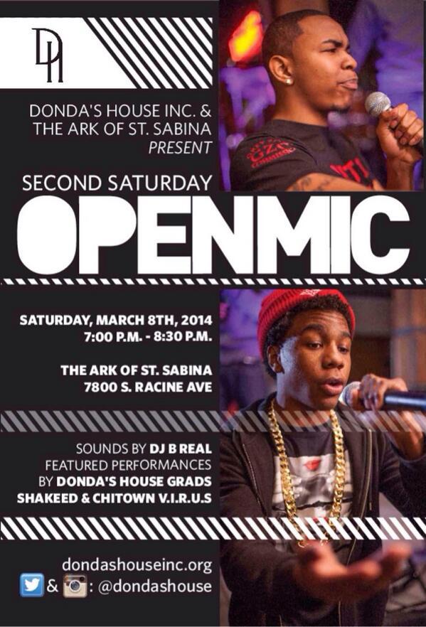 dondas house open mic