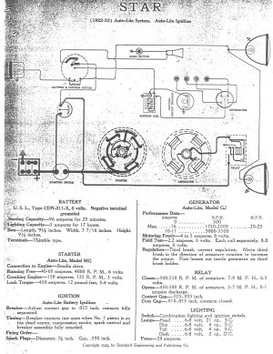 1929 Model A Coil Wiring  model a ignition wiring diagram