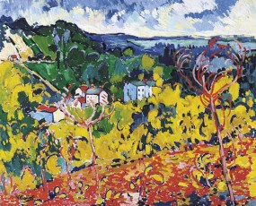 Bougival, Maurice de Vlaminck, 1905, Dallas Museum of Art, The Wendy and Emery Reves Collection