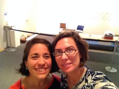 Natalie Macellaio and Lesli Robertson