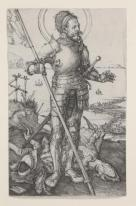 Albrecht Dürer, St. George on Foot, 1504-05, Dallas Museum of Art, bequest of Calvin J. Holmes