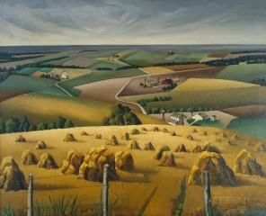 Florence E. McClung, Squaw Creek Valley, 1937, Dallas Museum of Art, gift of Florence E. McClung