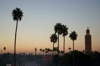 Marrakech at Sunset