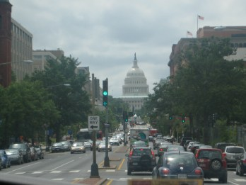 WORLD TRAVEL: Washington, DC. USA | Among all the traffic of driving through the city, Capitol Hill is a noticeable landmark.