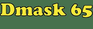 Mascarilla Higiénica de tela reutilizable Dmask 65