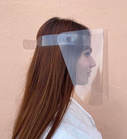 Pantalla facial protectora abatible Dmask Screen