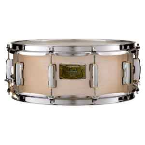 """Pearl Masters BRP birch snare drum 14"""" x 5.5"""" - platinum mist"""