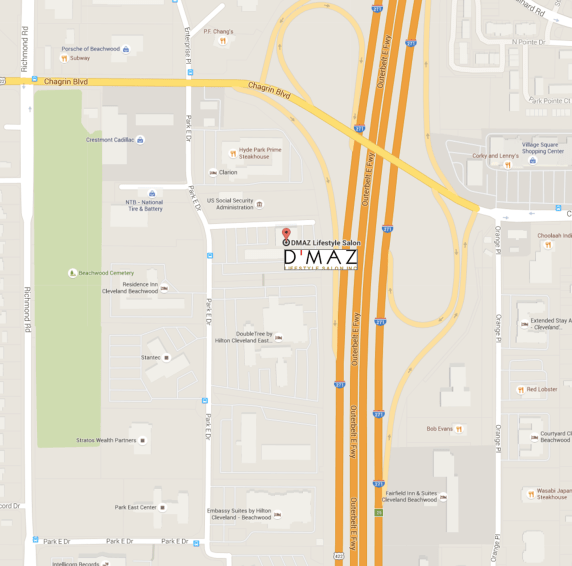 DMAZ Lifestyle Salon Location_Map