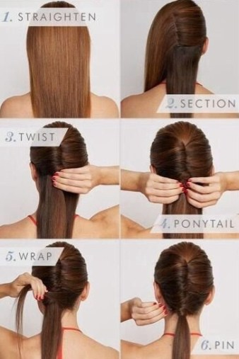 Sleek Vixen Hairstyle - Do it yourself tutorial