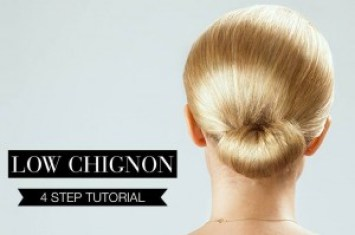 Low Chignon1
