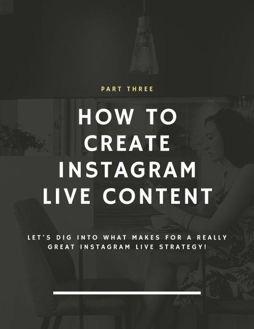 DM Burton Instagram Live for business Guide Page 19