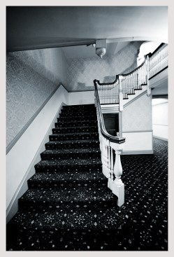 Stairs of the Stanley Hotel