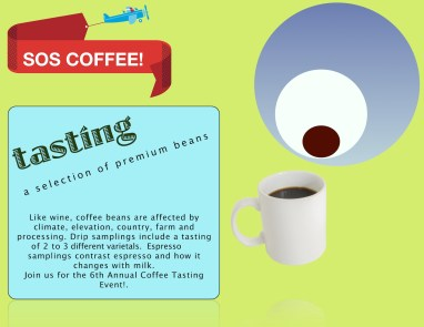 coffee tasting event