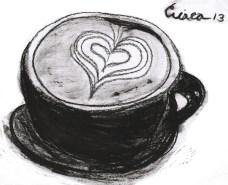 Mocha Coffee drawing