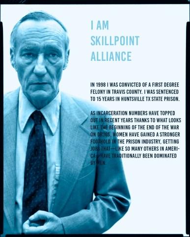 William Burroughs, writer, New York, July 9, 1975