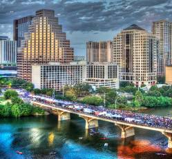 South Congress Bridge Austin Texas