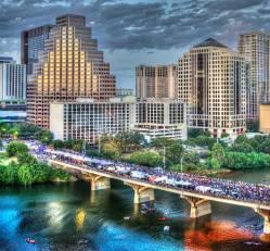 South Congress Bridge Austin Texas