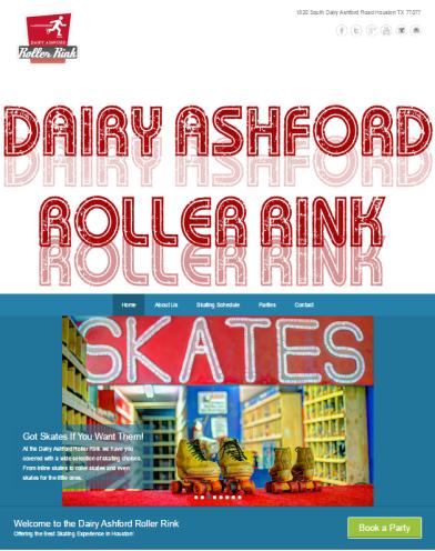 Dairy Ashford Roller Rink 2015