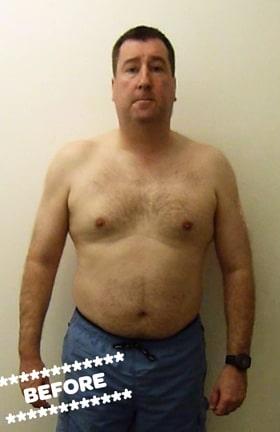 Gordon Kyle Before DMC Fitness Personal Training