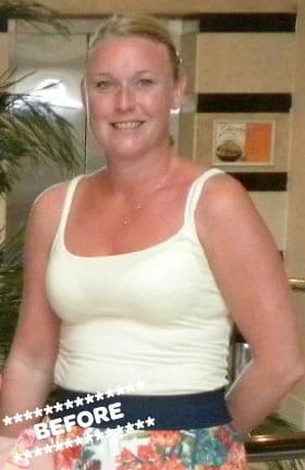 Pauline Kelly Before DMC Fitness Personal Training