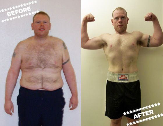 Stephen weight loss transformation