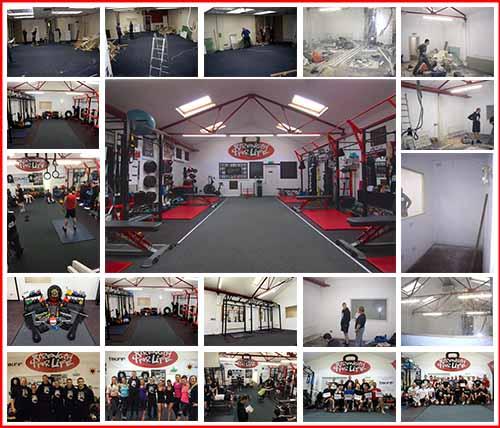 Gym composition