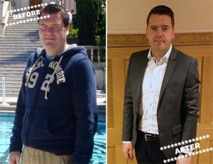 Chris Mc before & after