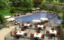illumina residences deck garden