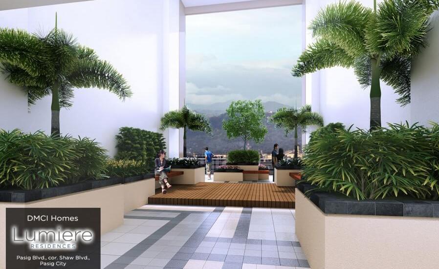 Lumiere Sky patio