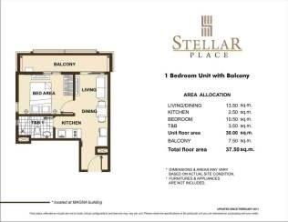 STELLAR PLACE 1BR