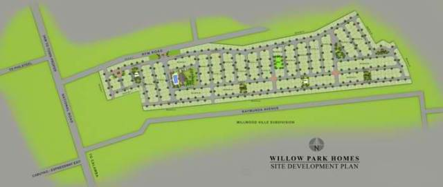 willow park site dev plan