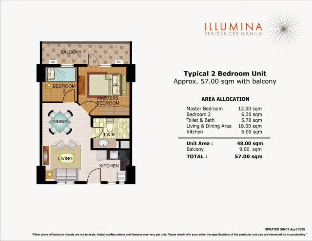 Illumina 2 Bedroom