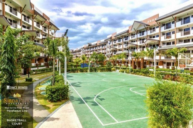 Siena Park Residences Basketball Court