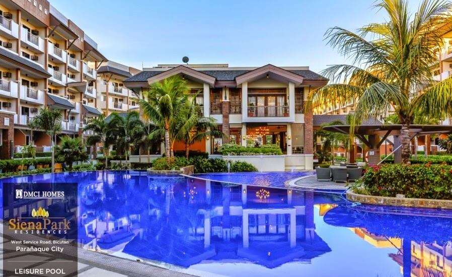 Siena Park Residences Leisure Pool